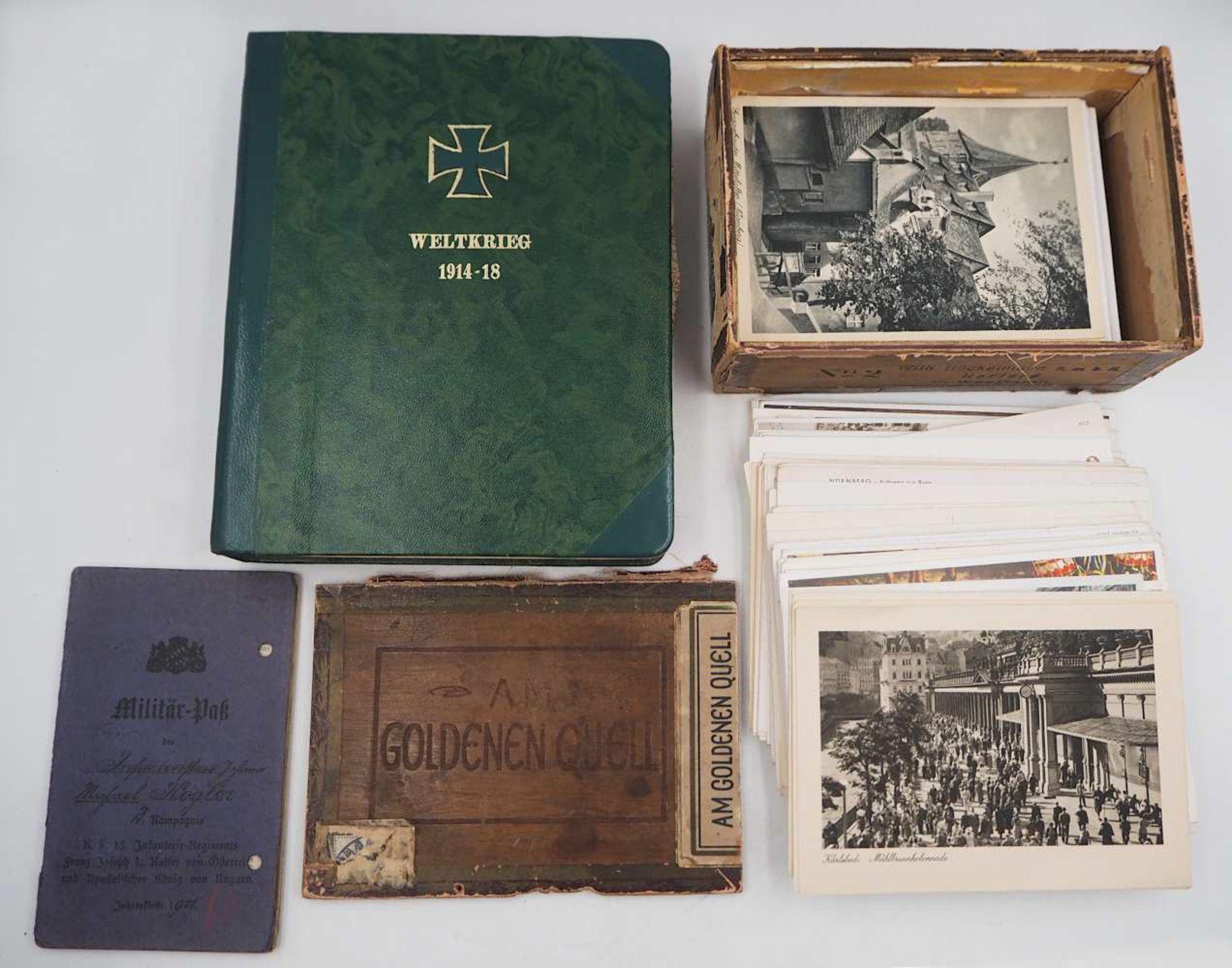 1 Konv. Militaria des Feldwebel/Oberleutnant Johann Michael KÖGLER (wohl *1891), 1./2. WK: - Bild 2 aus 6