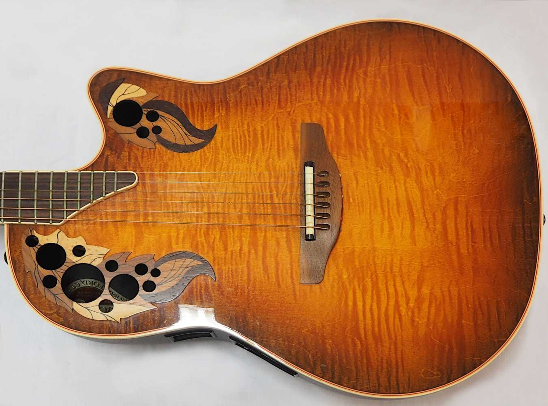 "1 Akustikgitarre OVATION ""Nr. 493 Collector's Series'98, New Hartford, CT./USA"" Holz m - Bild 4 aus 5"