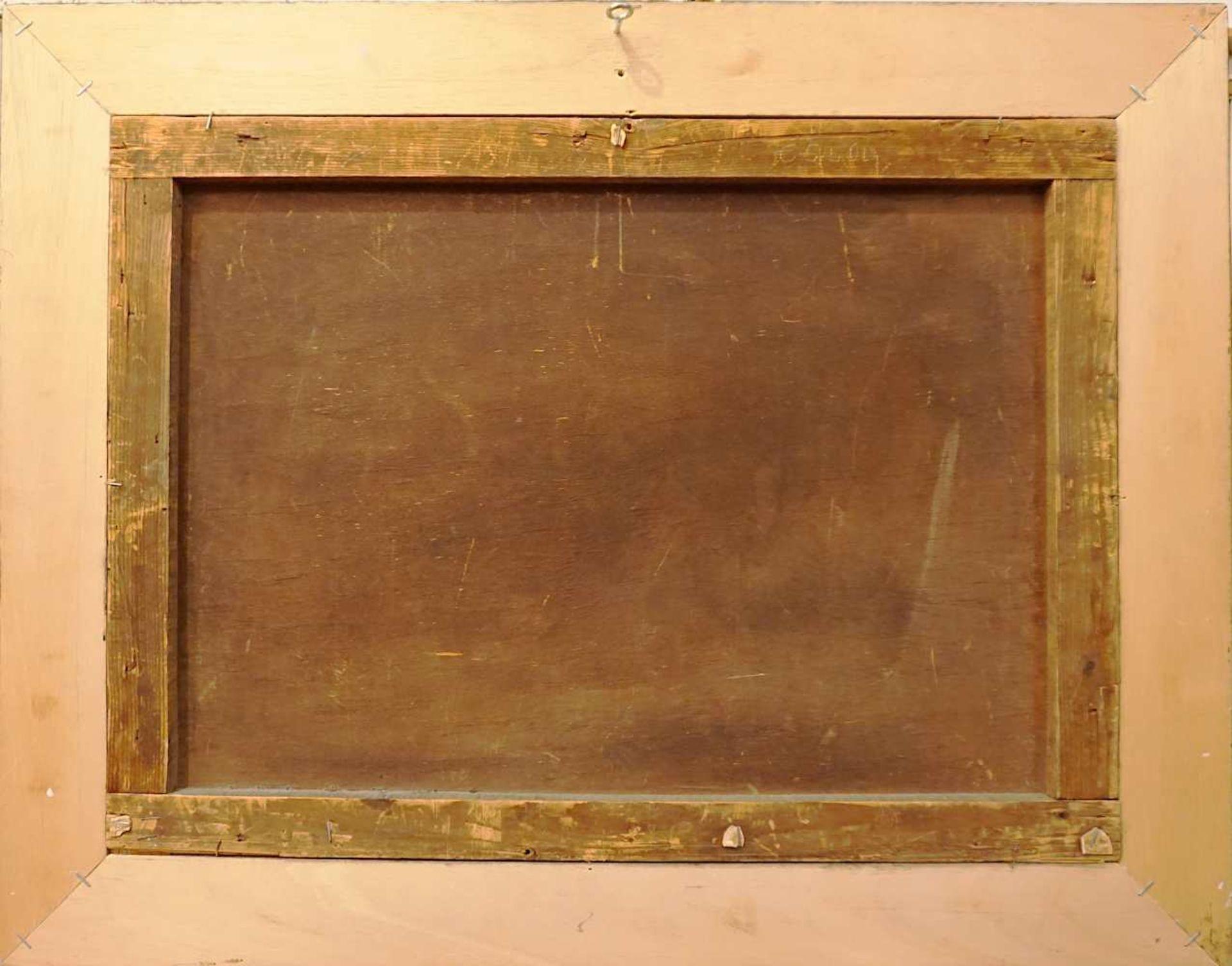"""1 Ölgemälde """"Landsknechte"""" L.u. sign. A. FRIEDLÄNDER (wohl Alfred F. 1860-c. 1927/3 - Bild 3 aus 3"""