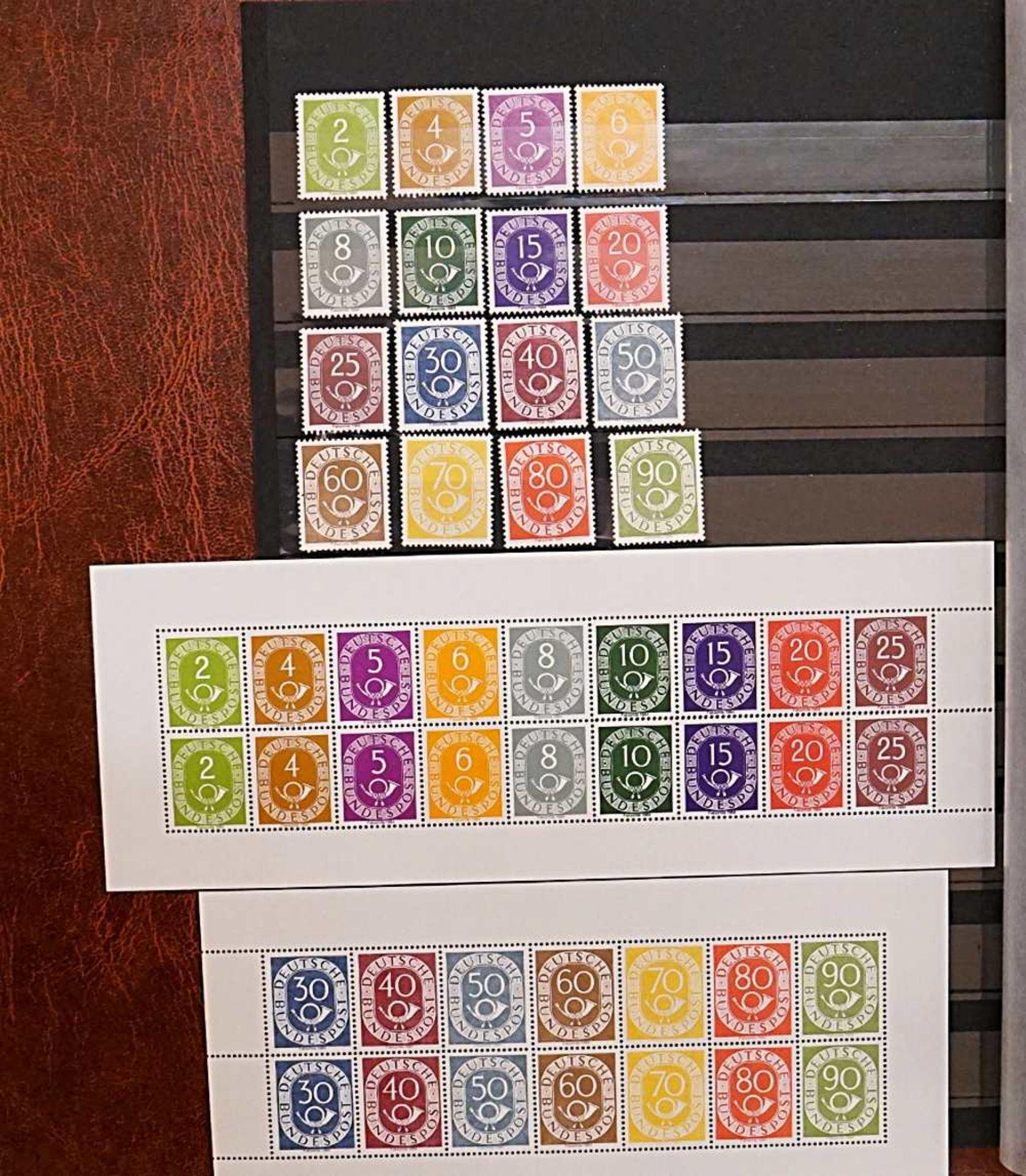 1 Sammlung Briefmarken, Ersttagsbriefe, Briefe, Fehldrucke u.a., gestempelt/ungestempelt, <b - Bild 4 aus 7