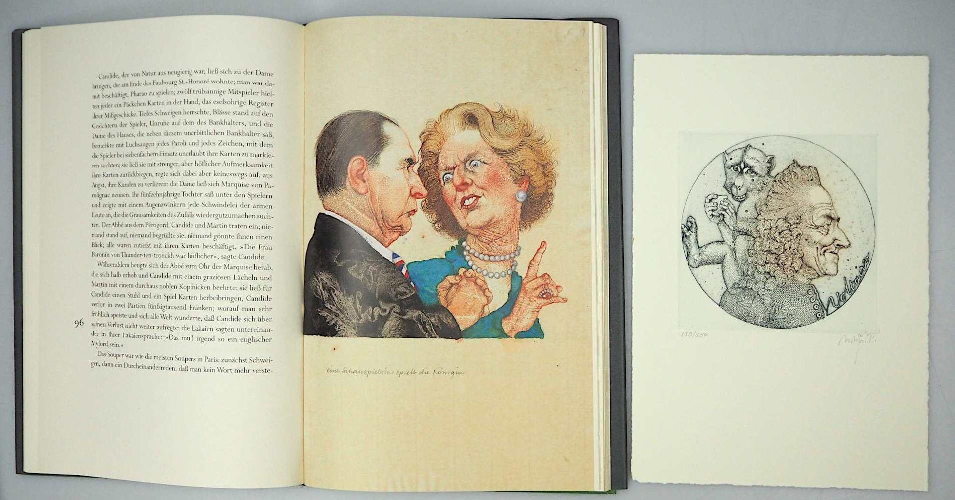 1 Sammlung Kunstbücher mit dem Schwerpunkt Michael Mathias PRECHTL (wohl 1926-2003) z.T. mit Or - Bild 5 aus 11