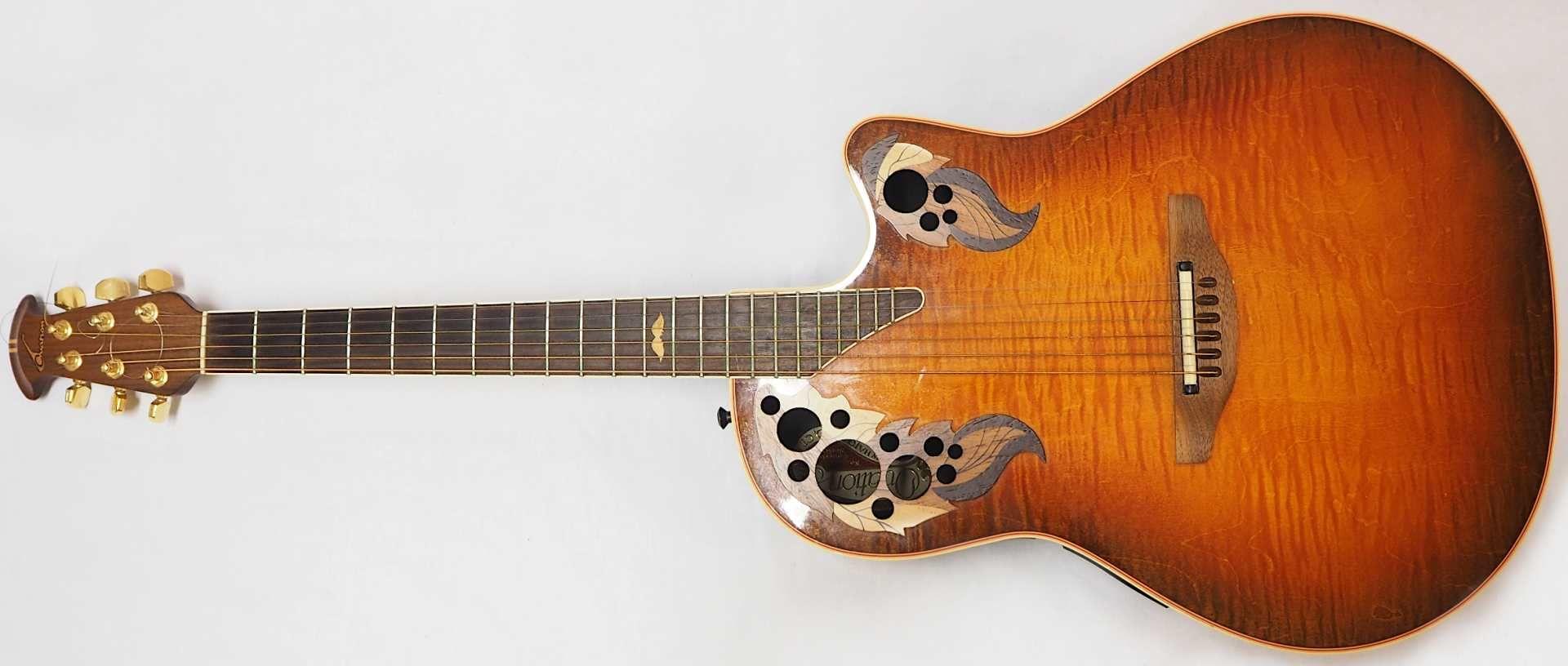 "1 Akustikgitarre OVATION ""Nr. 493 Collector's Series'98, New Hartford, CT./USA"" Holz m - Bild 2 aus 5"