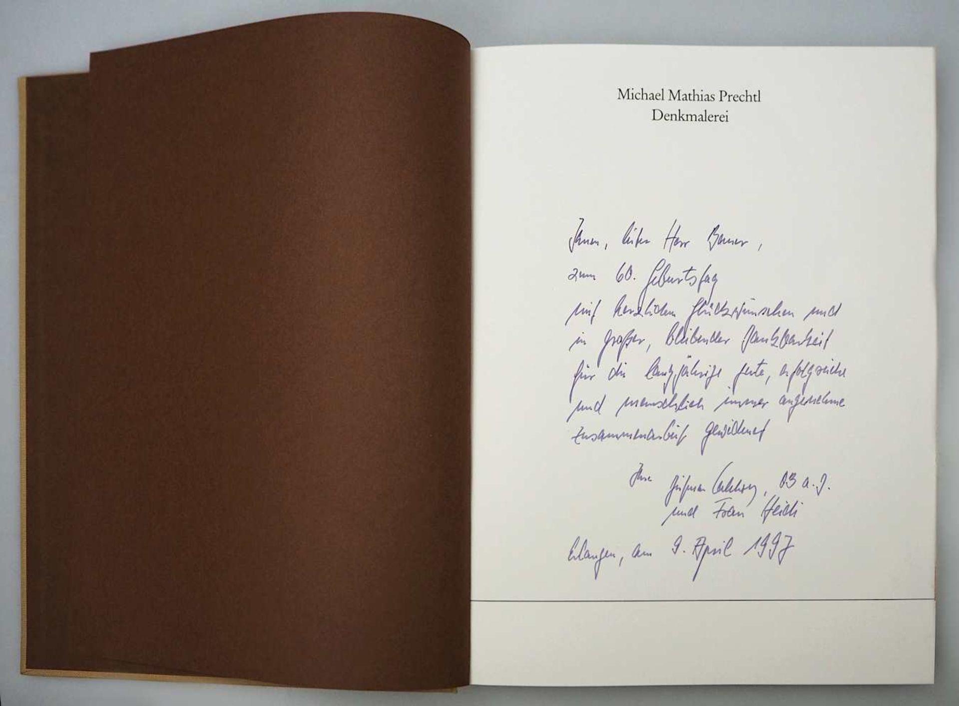 1 Sammlung Kunstbücher mit dem Schwerpunkt Michael Mathias PRECHTL (wohl 1926-2003) z.T. mit Or - Bild 8 aus 11