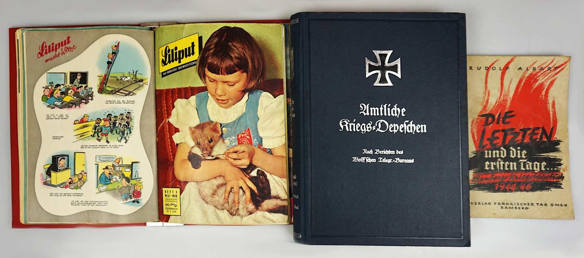 """1 Buch """"Die letzten und die ersten Tage. Bambergs Kriegstagebuch 1944/46"""" Bamberg 1953; <br"""