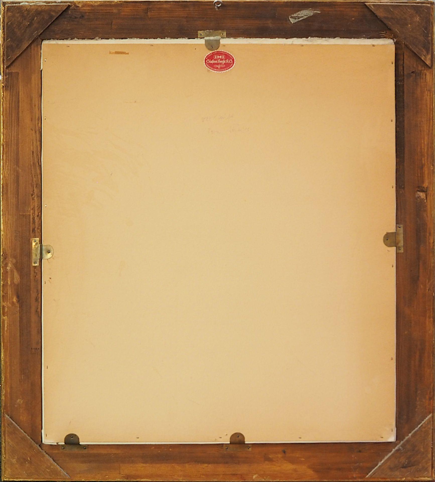 "1 Ölgemälde ""Ballerina im Spiegel"" R.u. sign. H. BREUNINGER (wohl Helmut B. *1921) Öl/Lwd., ca. - Bild 2 aus 4"