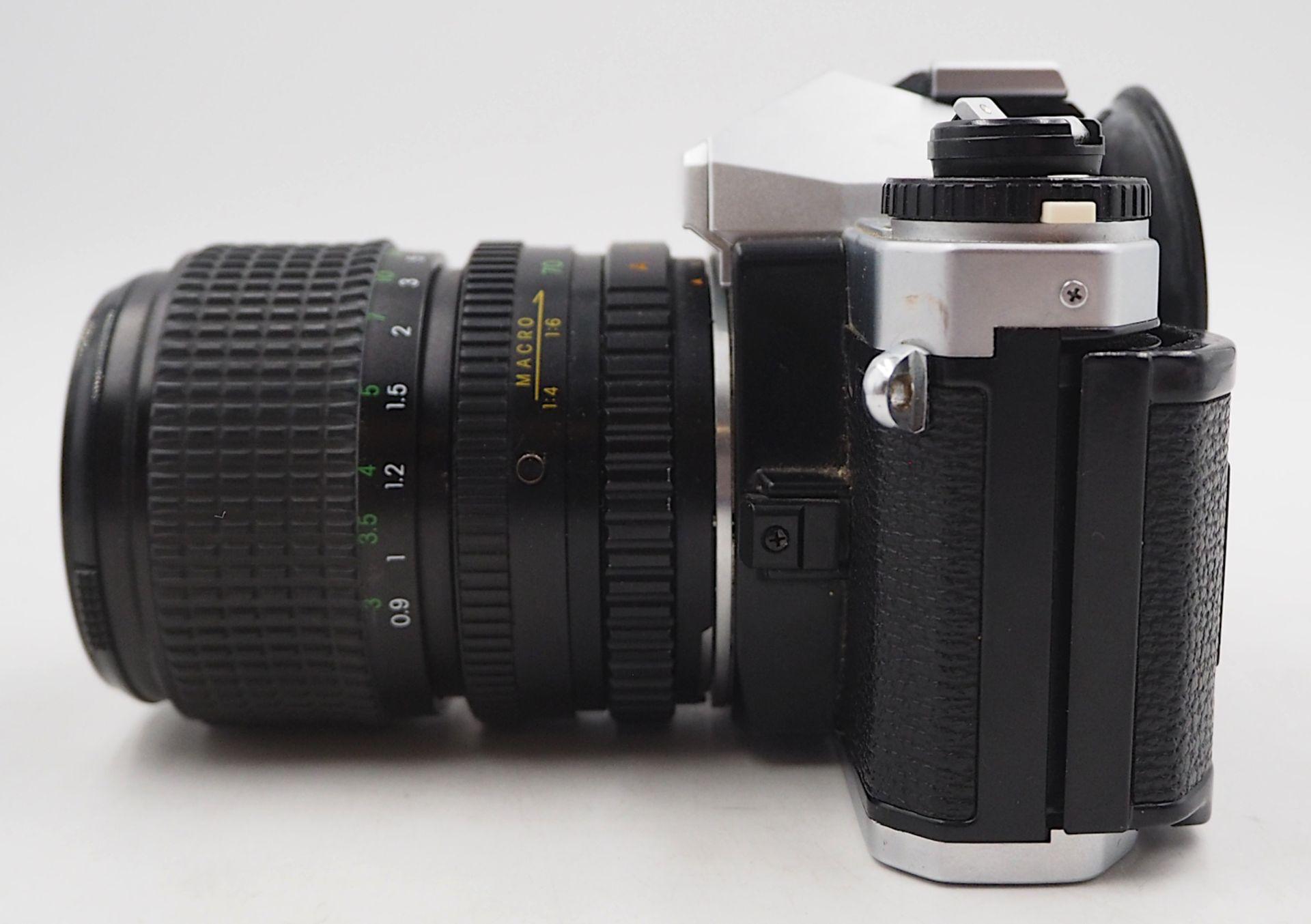 """1 Fotoapparat PORST """"CR-3 Automatic"""" mit Objektiv PORST """"Unizoom 1:3,5-4,5/35-70mm Mac - Bild 3 aus 6"""