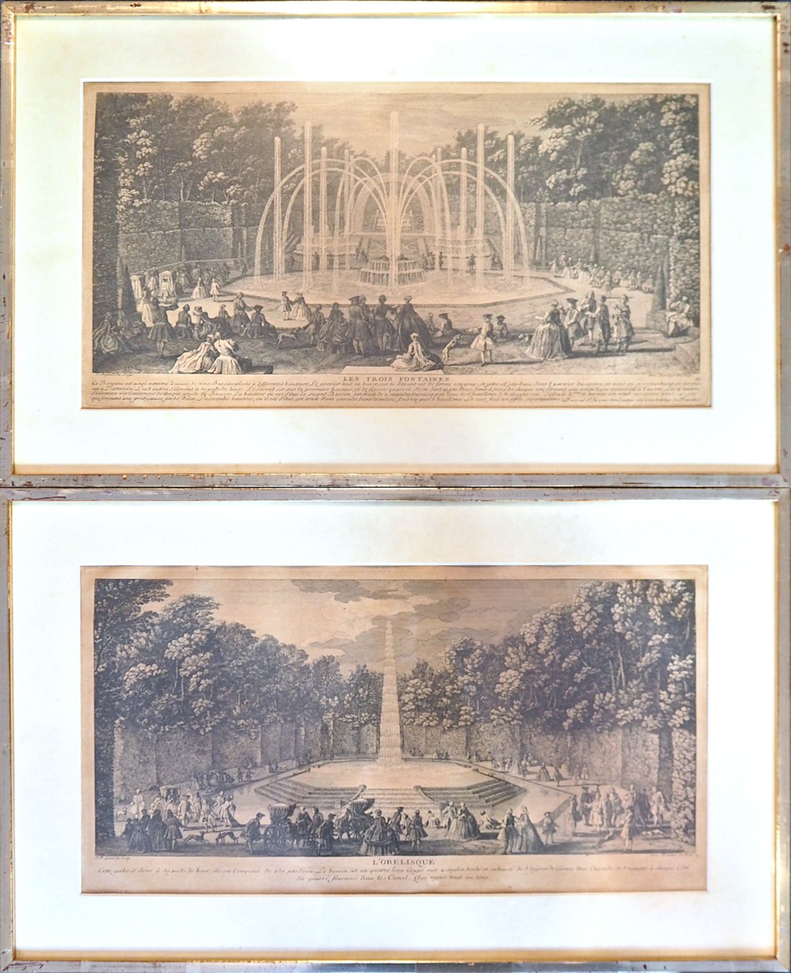 1 Serie von 6 Radierungen des Künstlers Jacques RIGAUD (wohl ca. 1671/91-1754) mit dem Schwerpu - Bild 3 aus 3