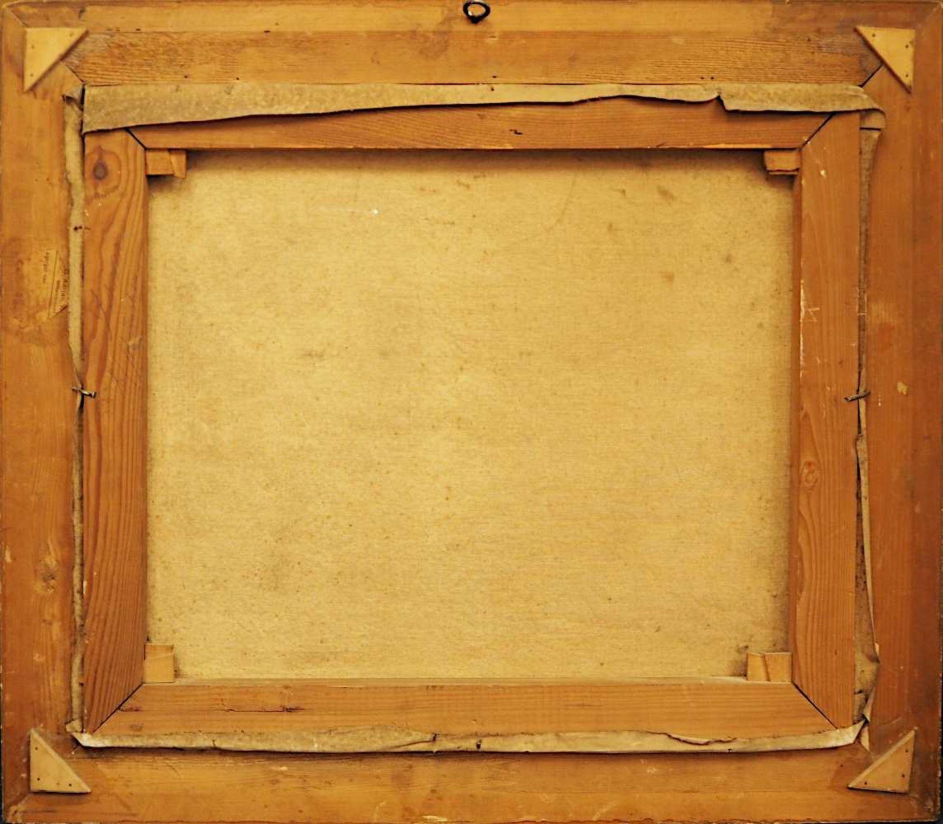"""1 Ölgemälde """"Herbstliche Flussbiegung"""" R.u. sign. Wolf BLOEM (wohl 1896-1971) dat. 1 - Bild 4 aus 4"""