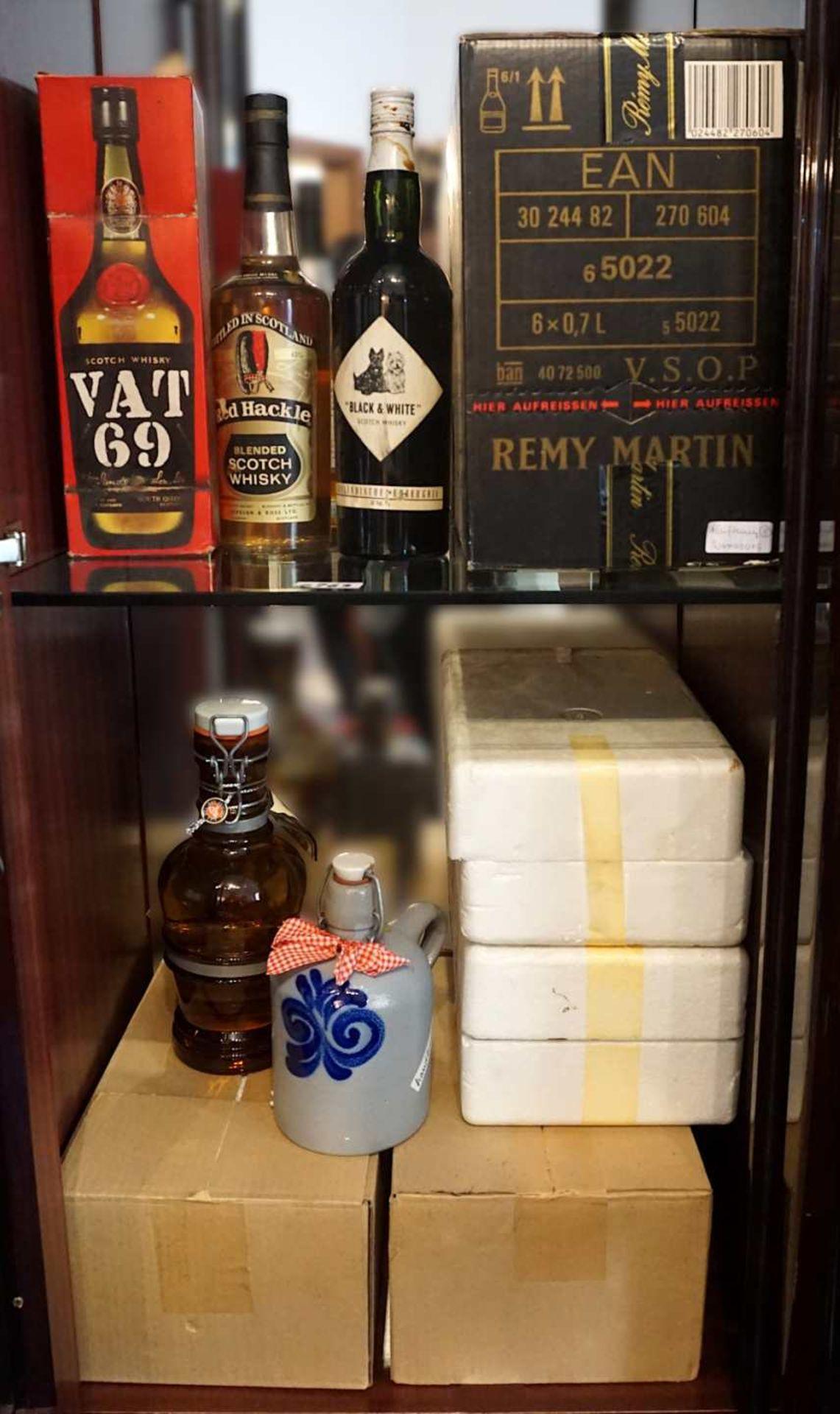 1 großes Konv. verschiedenster Spirituosen, z.T. mehrere Flaschen pro Marke (insgesamt wohl meh - Bild 3 aus 3