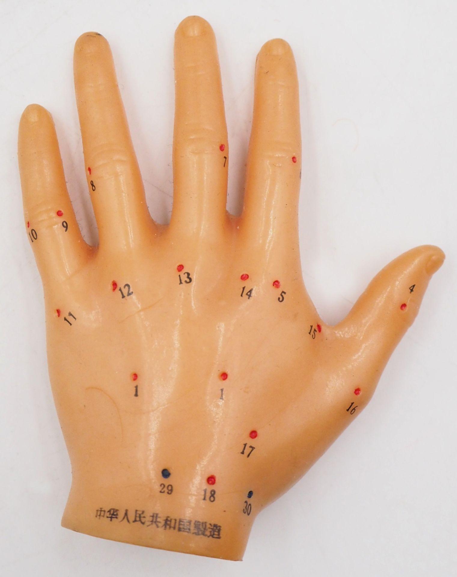 1 Akupunkturpuppe eines Mannes GOOD HEALTH BRAND, wohl Mitte 20. Jh., Japan Kunststoff - Bild 4 aus 7