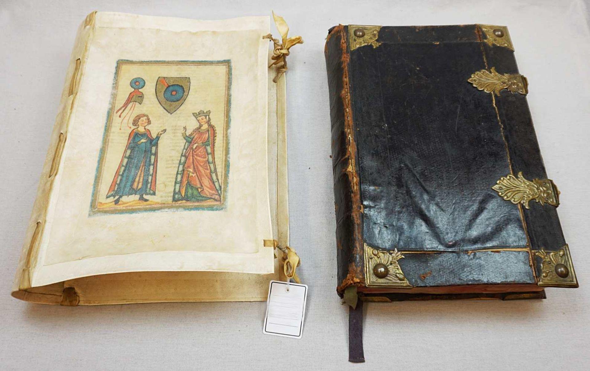 """1 Buch """"Missale Romano-Moguntinum ... D. Philippi Caroli"""" dat. 1742 mit Kupferstichen"""
