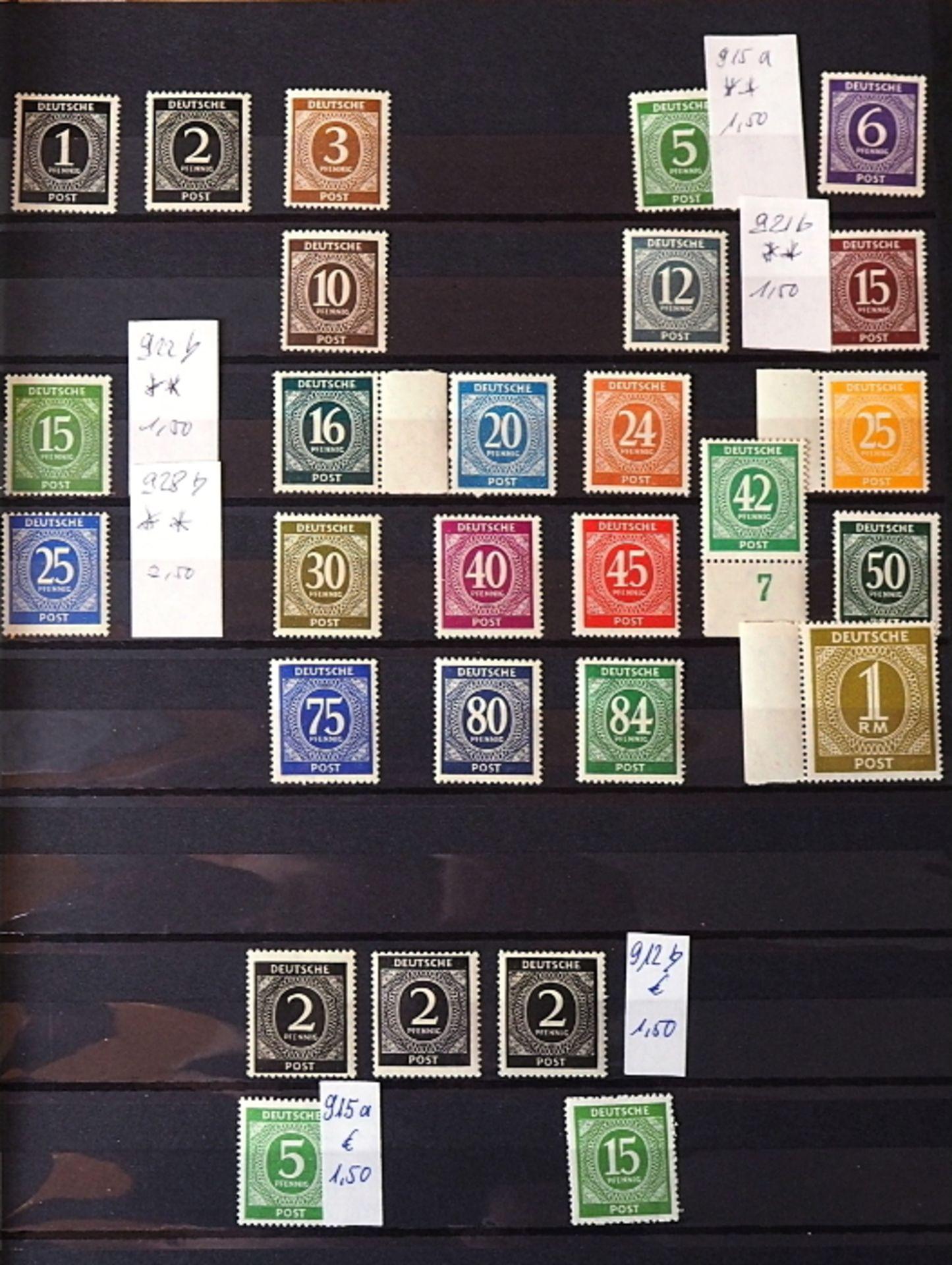 1 Sammlung Briefmarken, Ersttagsbriefe, Briefe, Fehldrucke u.a., gestempelt/ungestempelt, <b - Bild 3 aus 7