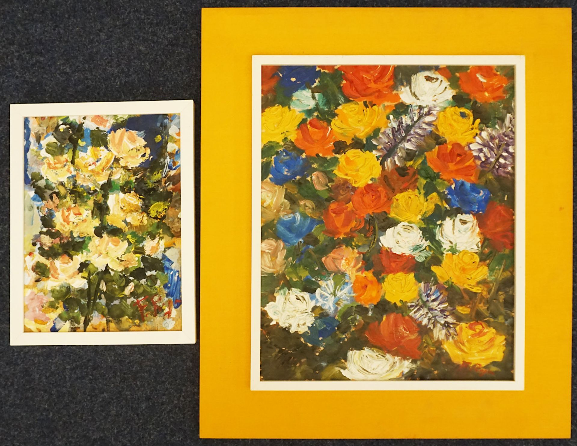 1 Konv. Ölgemälde 20. Jh. mit verschiedenen italienischen Künstlern und Motiven: z. - Bild 2 aus 3