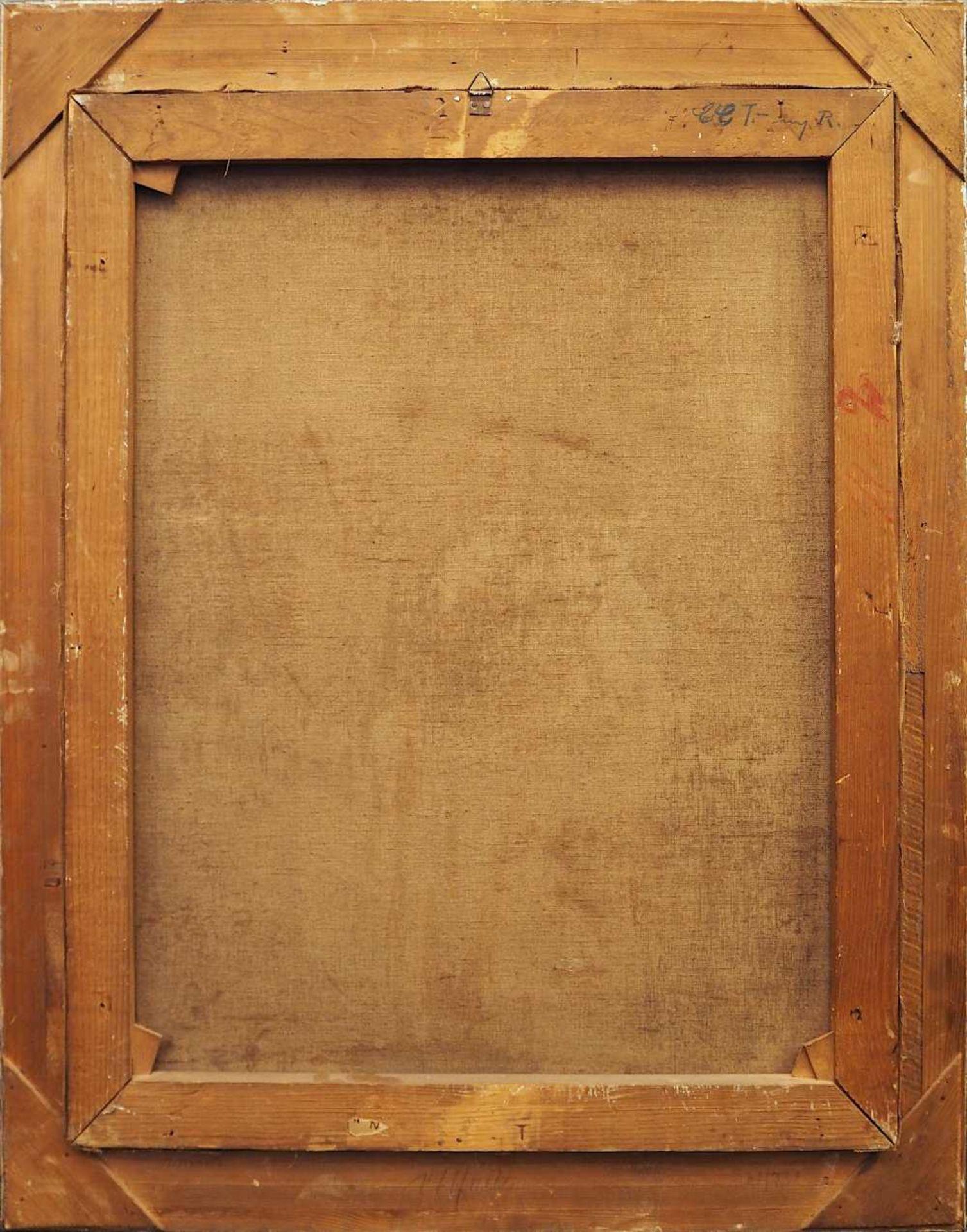 """1 Ölgemälde """"Einsame Birke am winterlichen Bachlauf"""" L.u. sign. Hans MAULWURF (wohl - Bild 4 aus 4"""