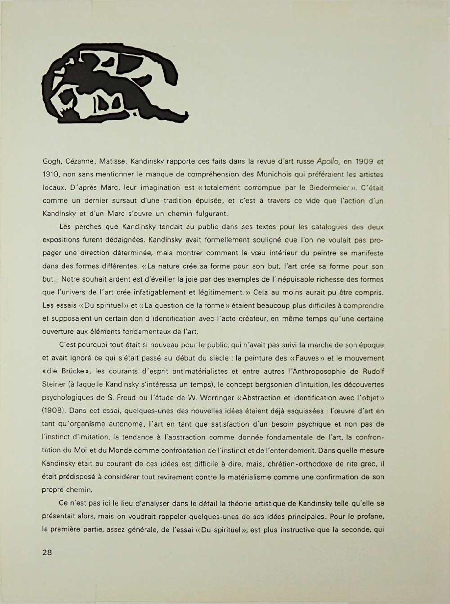 "1 Farblithographie ""La rue"" L.u. in Stein sign. Henri ROUSSEAU (wohl 1844-1910) aus: "" - Bild 3 aus 3"