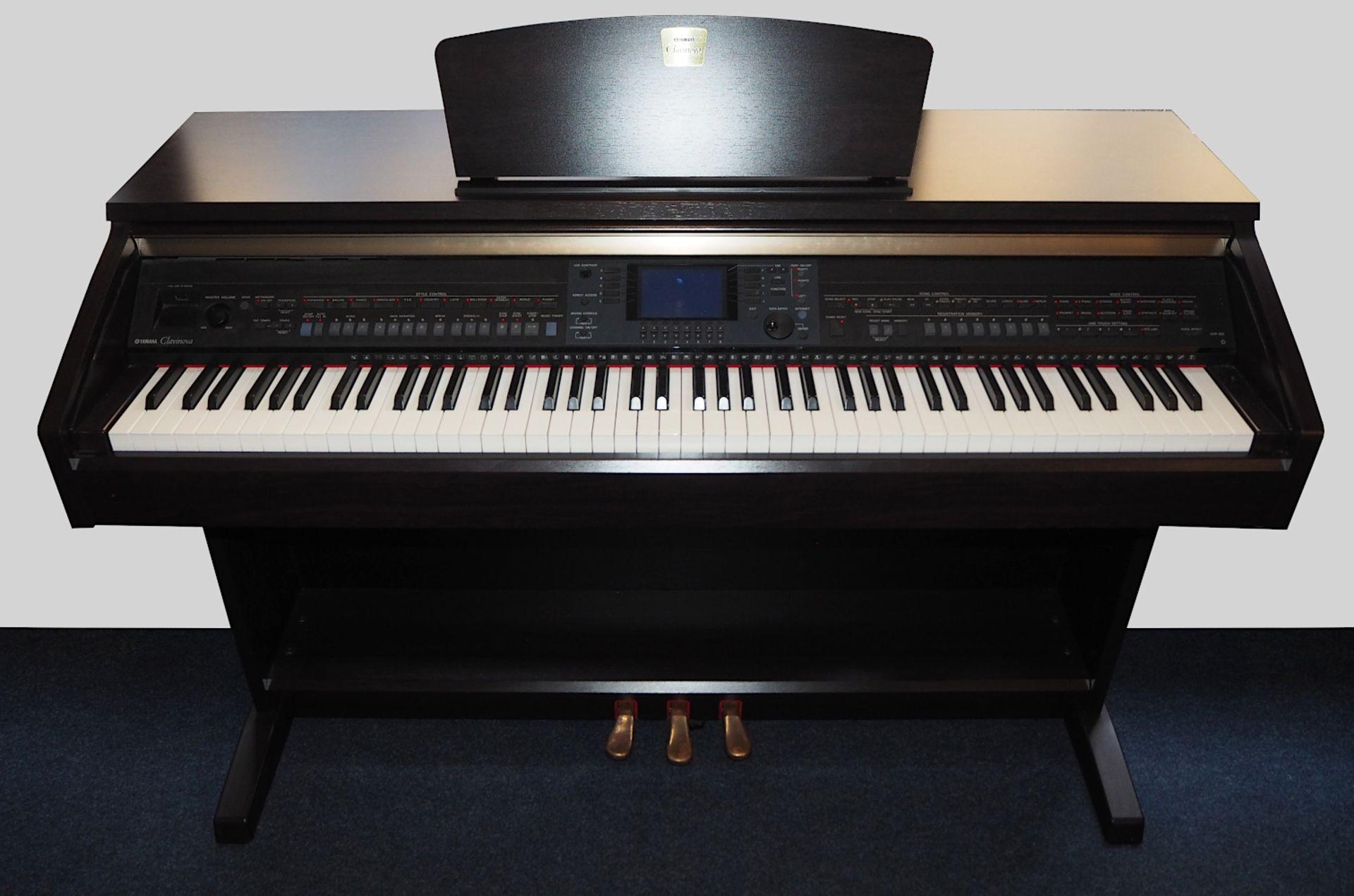"""1 elektrisches Klavier YAMAHA """"Clavinova CVP-501"""" mit verschiedenen Voice-, Style- und - Bild 2 aus 3"""