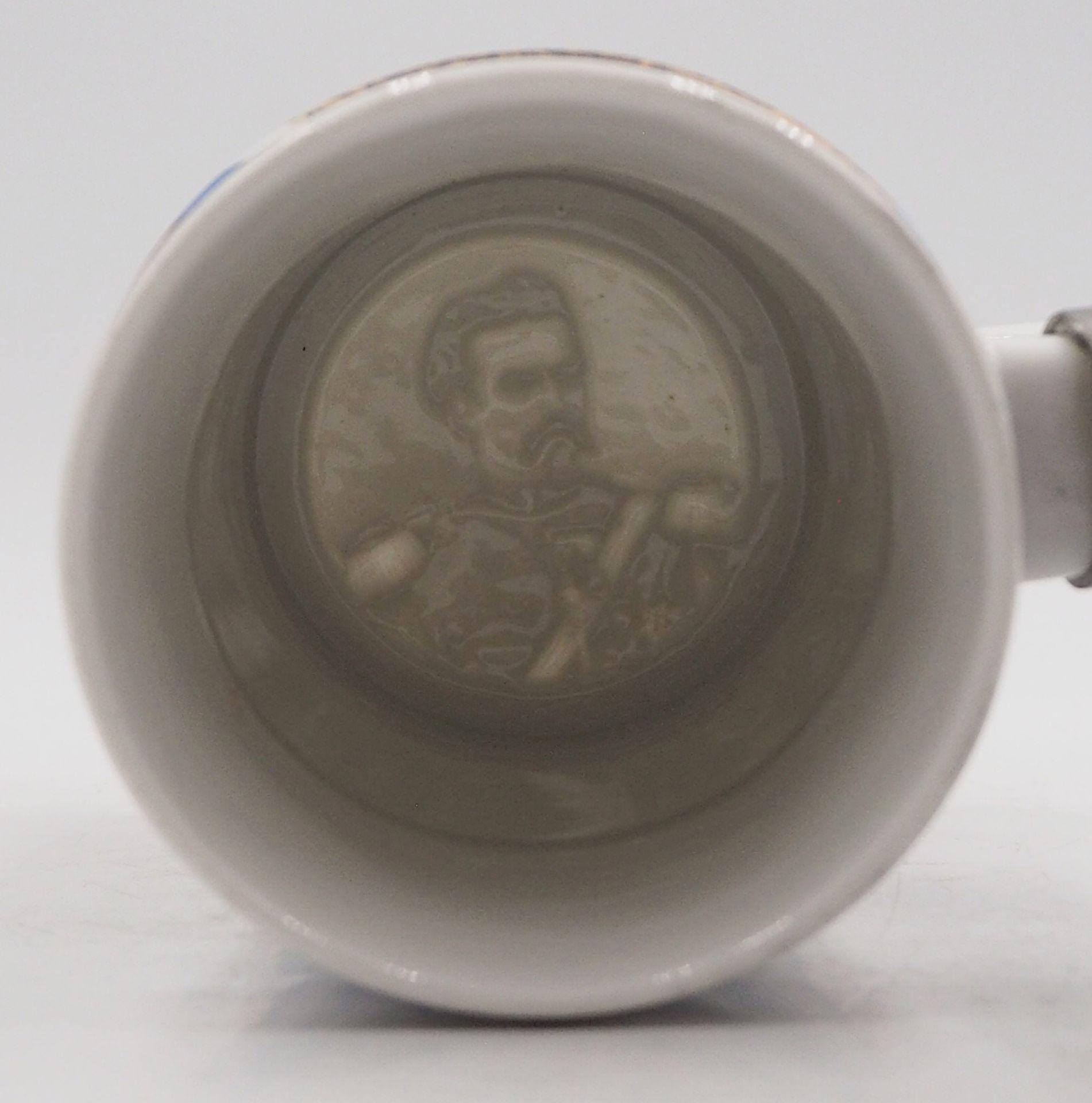 """1 Reservistenkrug """"Kgl. bayr. 14. Inft. Regt. """"Hartmann"""" 7. Comp. Nürnberg 1904-06"""" W - Bild 2 aus 6"""