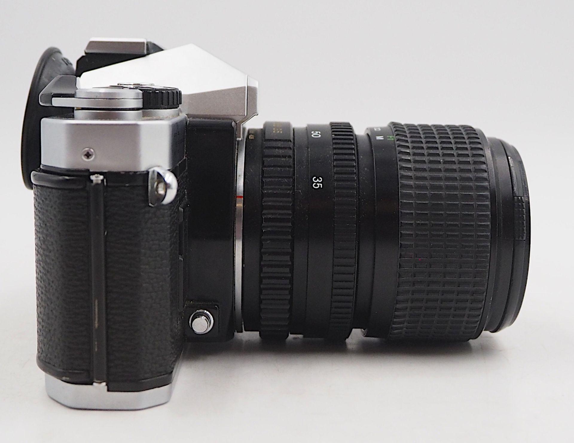 """1 Fotoapparat PORST """"CR-3 Automatic"""" mit Objektiv PORST """"Unizoom 1:3,5-4,5/35-70mm Mac - Bild 2 aus 6"""