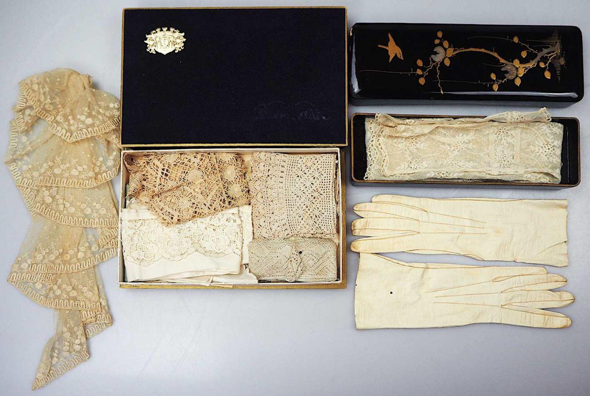 2 Fotoalben Anfang 20. Jh. mit Goldschnitt und reliefiertem Prägedekor z.T. gefüllt - Bild 3 aus 3