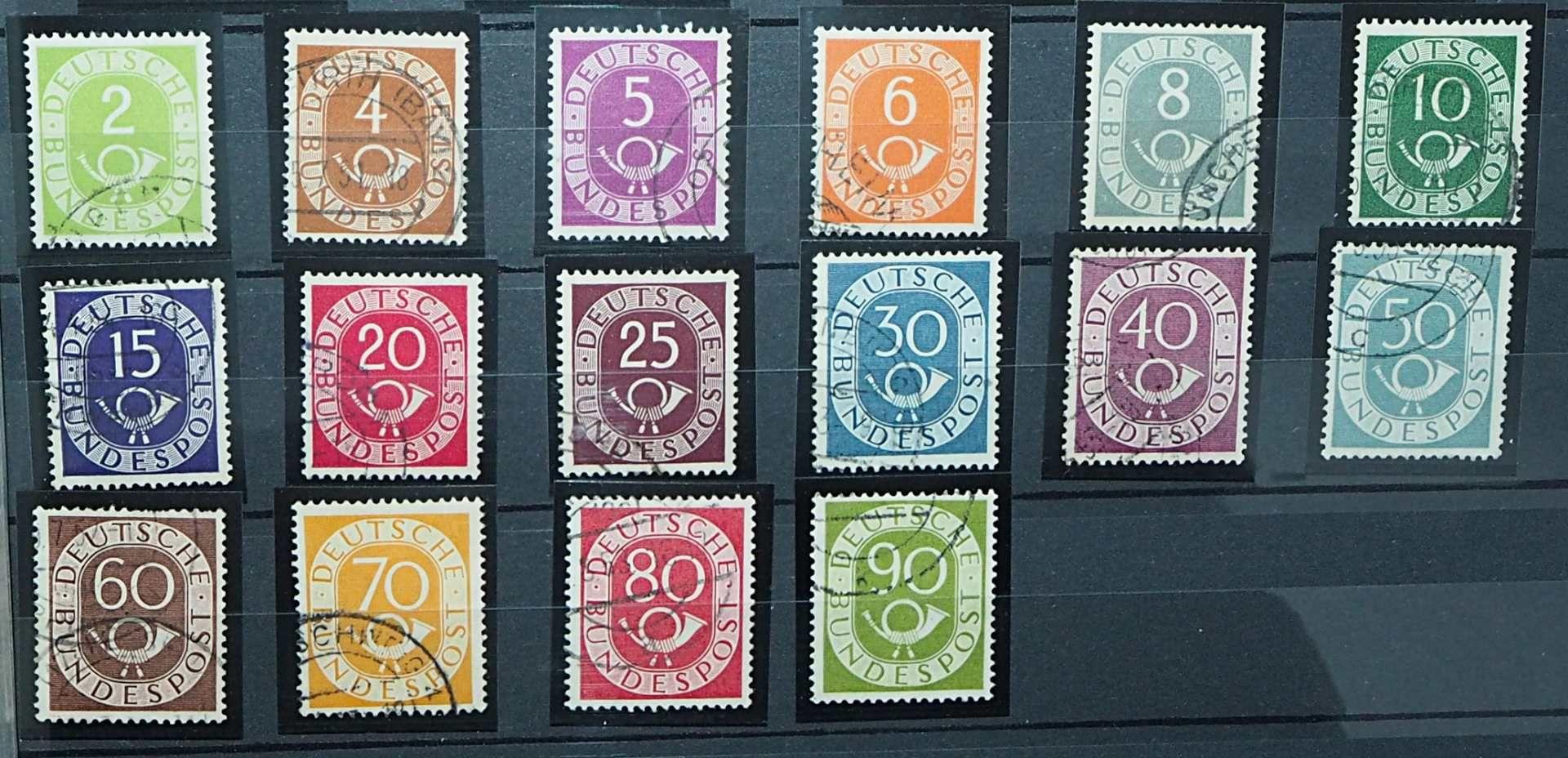 1 Sammlung Briefmarken, Ersttagsbriefe, Briefe, Fehldrucke u.a., gestempelt/ungestempelt, <b - Bild 7 aus 7