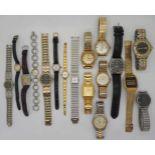 1 Konv. Armbanduhren Metall z.T. verg. versch. DUGENA, JUNGHANS u.a. 1x Gehäuse GG 14ct. (LOVAR