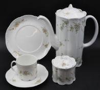 "1 Kaffee-/Speiseservice ROSENTHAL GROUP ""Classic Rose"", Form: Monbijou"