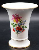 1 Vase Porzellan MEISSEN, 2. Hälfte 20. Jh.