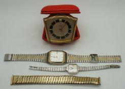 1 Konv. Armbanduhren Metall min. GG, Kunststoff u.a. z.T. OMEGA, FORTA u.a.