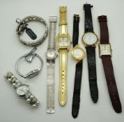 1 Konv. Armbanduhren u.a. Metall