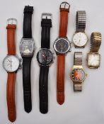 1 Konv. Armbanduhren Metall u.a.