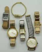 1 Konv. Armbanduhren GG 14/18ct.