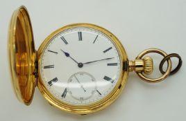 1 Taschenuhr GG 18ct. wohl Frankreich um 1900