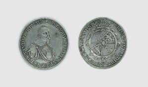 Silbermünze, Augsburg, 1 Taler