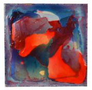 """Zech, Lars (1971 Stuttgart) """"Abstrakt"""", Epoxidharz mit alten Farbpigmenten auf Leinwand,"""