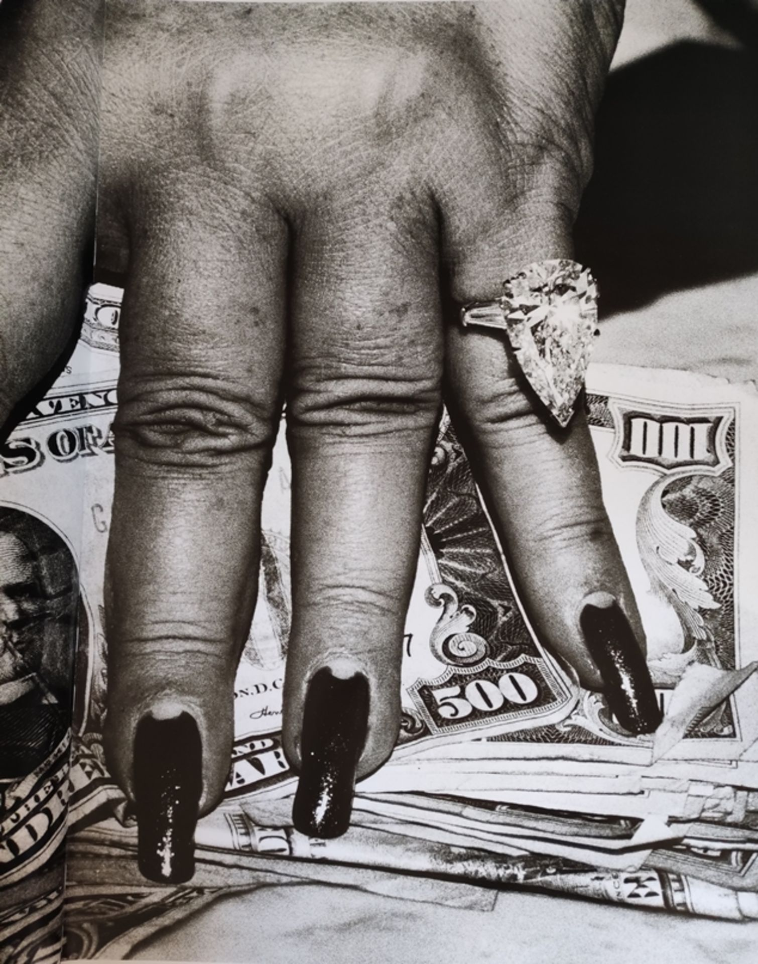 Helmut Newton's SUMO, edition of 10.000 copies, stamped by hand and signed by Helmut Newton, copy 4 - Image 5 of 8