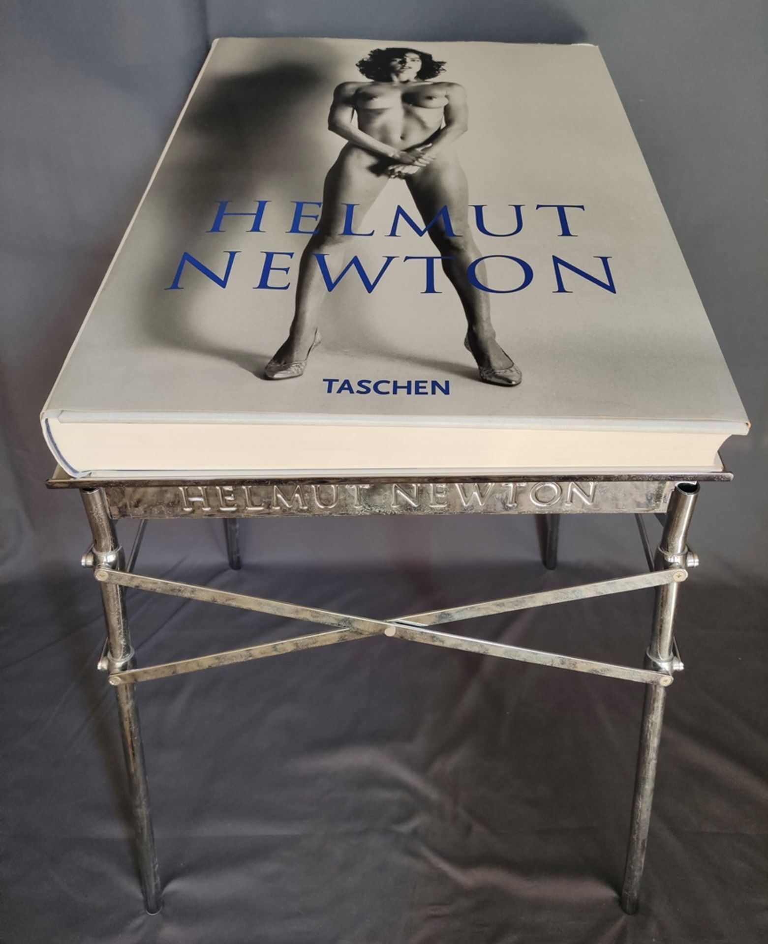 Helmut Newton's SUMO, edition of 10.000 copies, stamped by hand and signed by Helmut Newton, copy 4 - Image 2 of 8