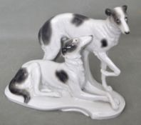 Zwei Windhunde