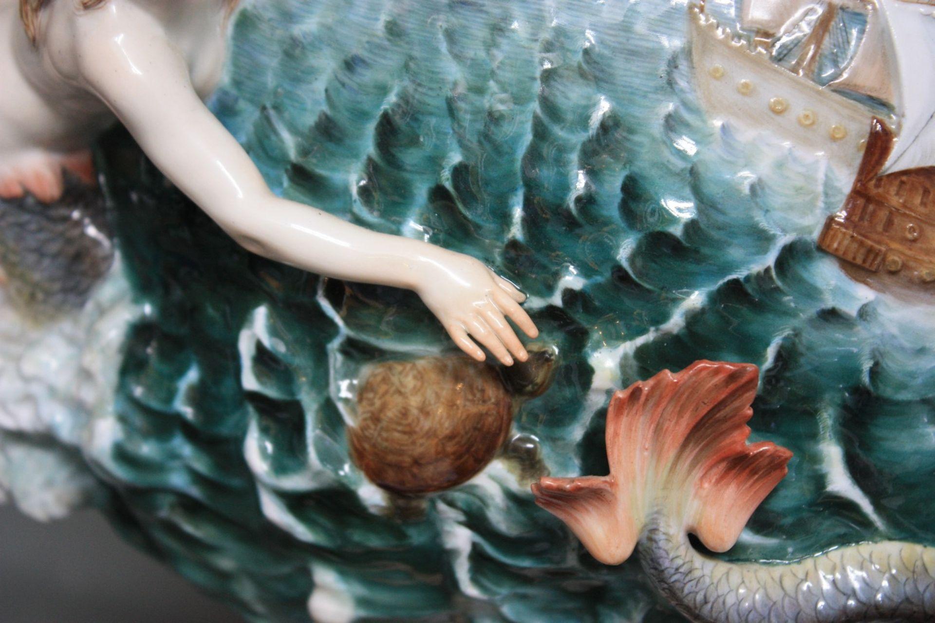 """Große prächtige Elementenvase """"Wasser"""" - Image 13 of 32"""