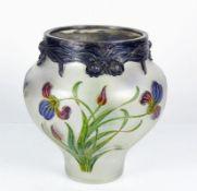Jugendstil-Vase (um 1900) gebauchter