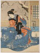 Japanischer Farbholzschnitt (19.Jh.)