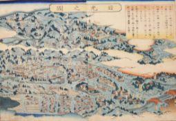 Japanischer Farbholzschnitt (Edo)