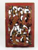 Tempelschnitzerei (China, um 1900)