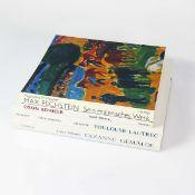 4 Kunstbücher Egon Schiele, Gemälde