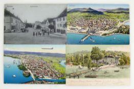 Ansichtskarten-Sammlung 46 Karten