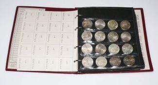 Münzsammlung mit österreichischen