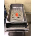 Full size by 4 inch perforated hotel pans