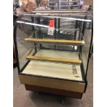 Federal 36 inch non-refrigerated bakery case