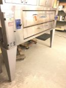 Bakers Pride model Y- 600 pizza oven natural gas