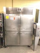 Traulsen dual temp refrigerator freezer