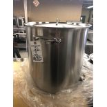 71 L stainless steel stockpot with cover